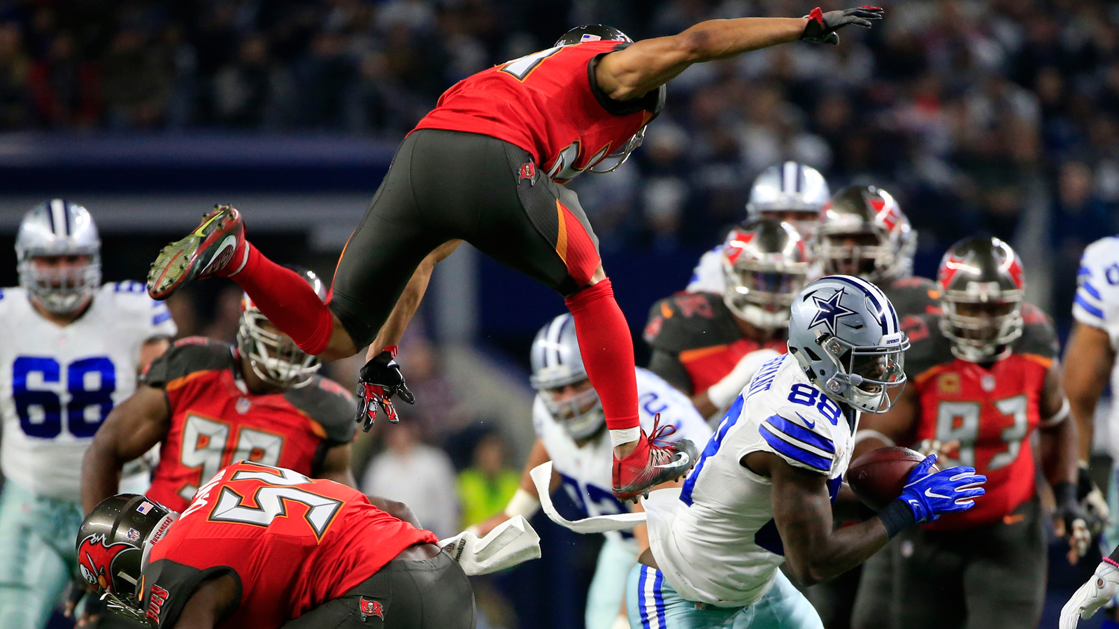 Buccaneers edged by Cowboys as win streak comes to a halt