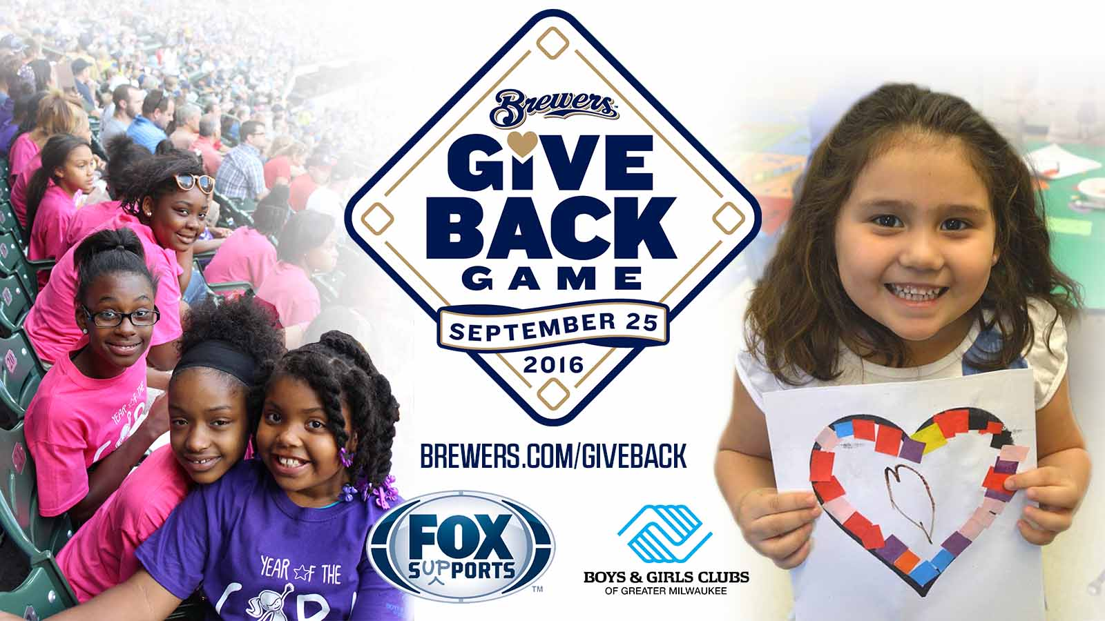 Brewers, FOX Sports Wisconsin to take part in 'Give Back Game'