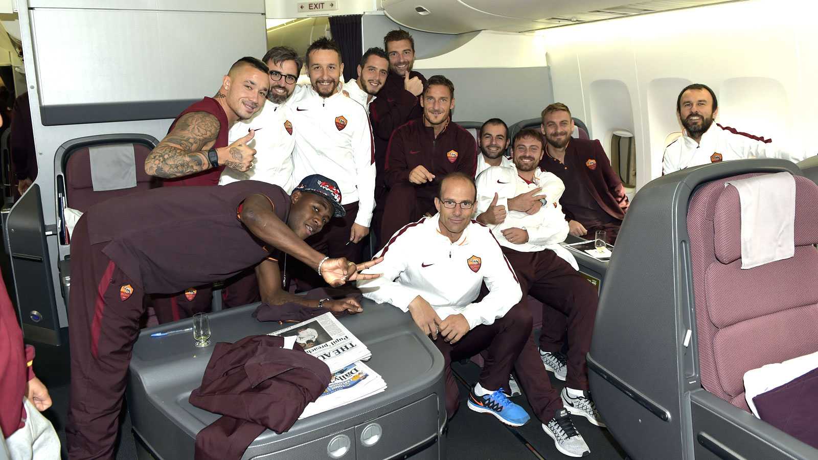 Five Roma players without visas denied entry to Indonesia