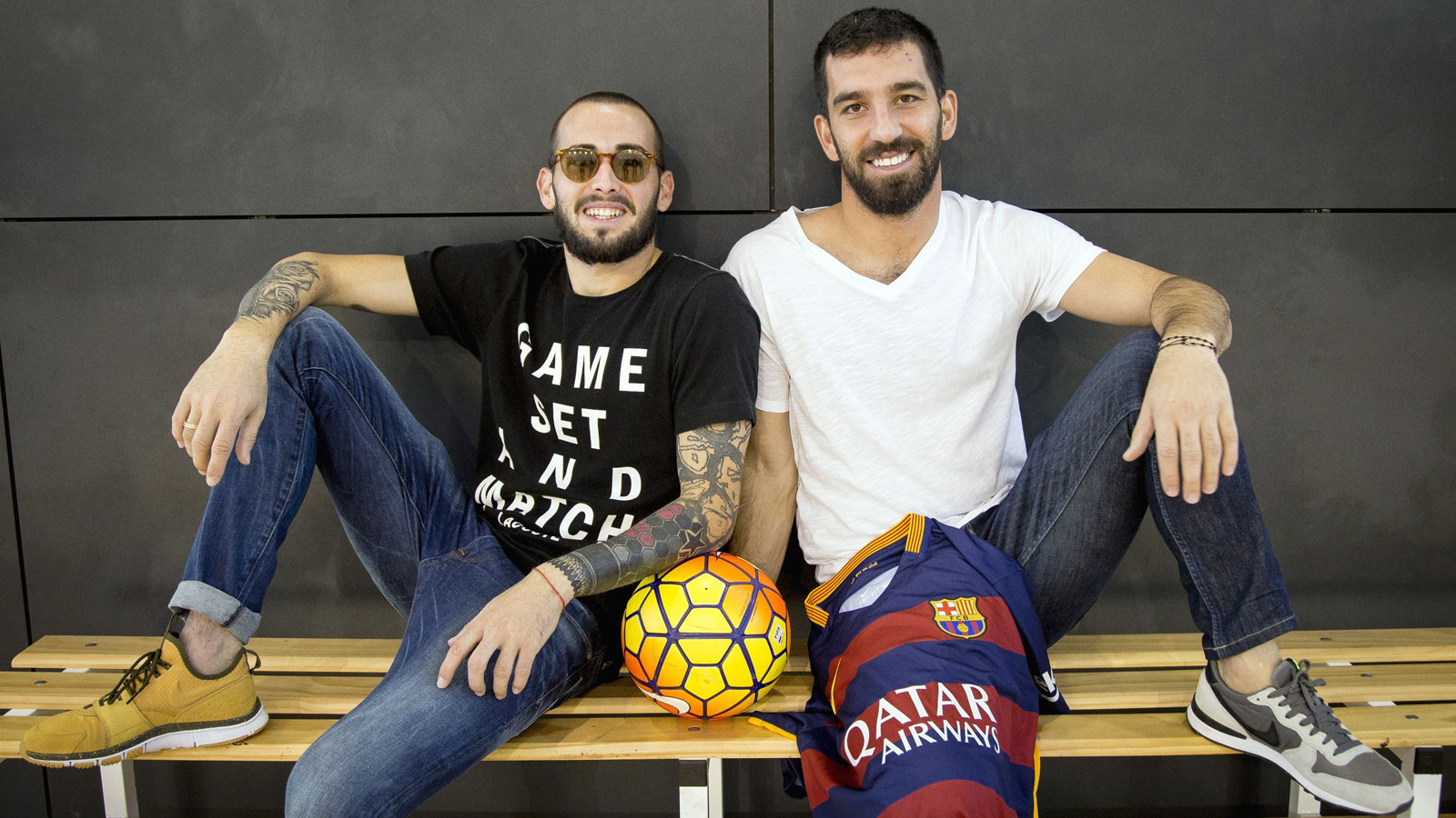 Arda Turan and Aleix Vidal ready for Barcelona bow