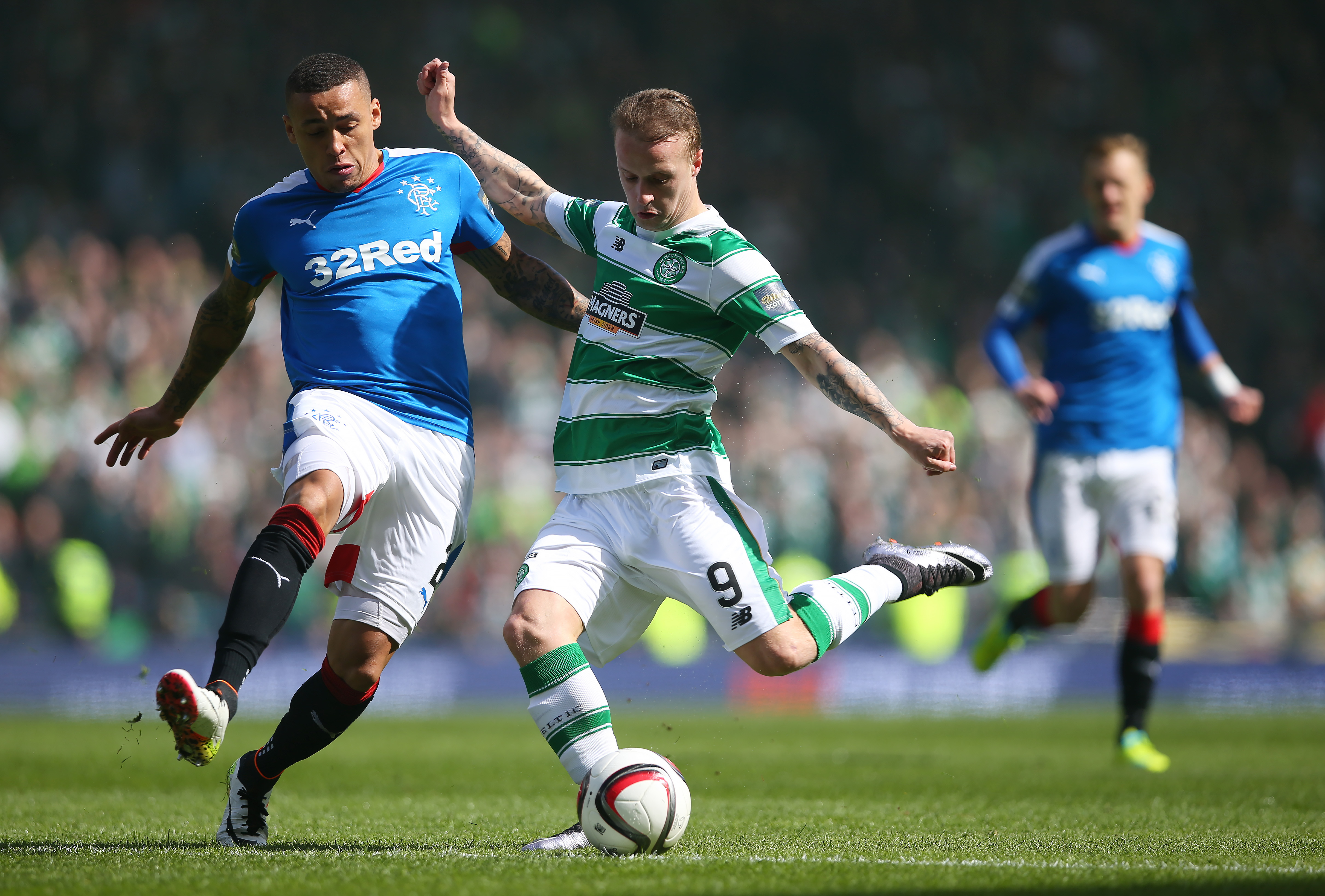 Leigh Griffiths misses Celtic training ahead of Rangers match