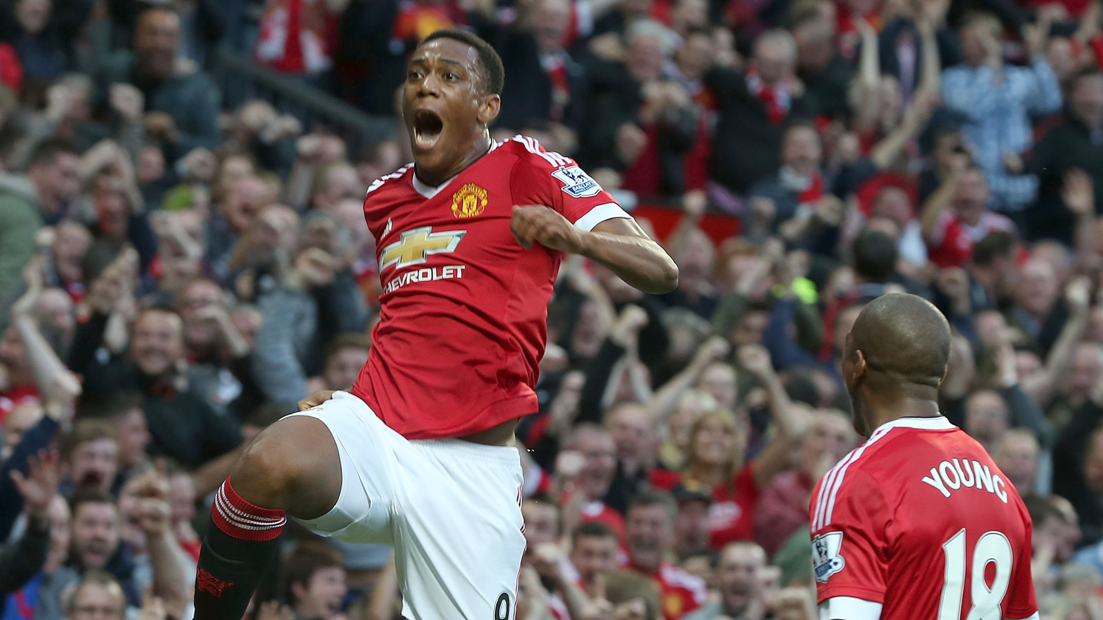 Anthony Martial marks Man United debut with late goal vs. Liverpool