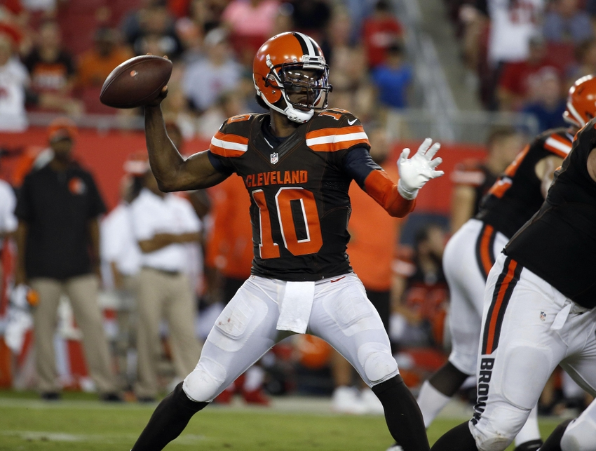 Cleveland Browns should move on from Robert Griffin III in 2017
