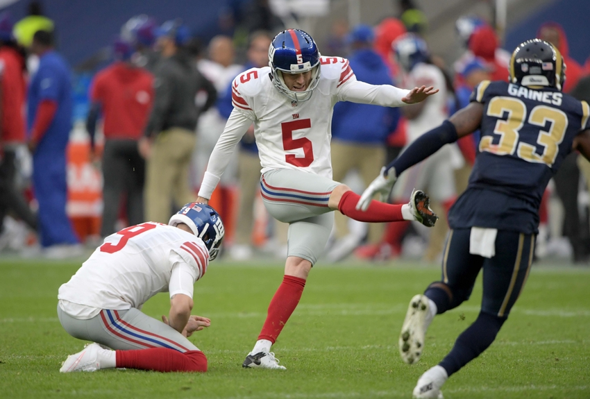 New York Giants: Robbie Gould Prepared to Face Former Team