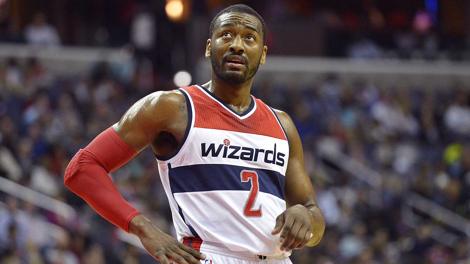 No one in the NBA is carrying as big a load as Wizards' John Wall