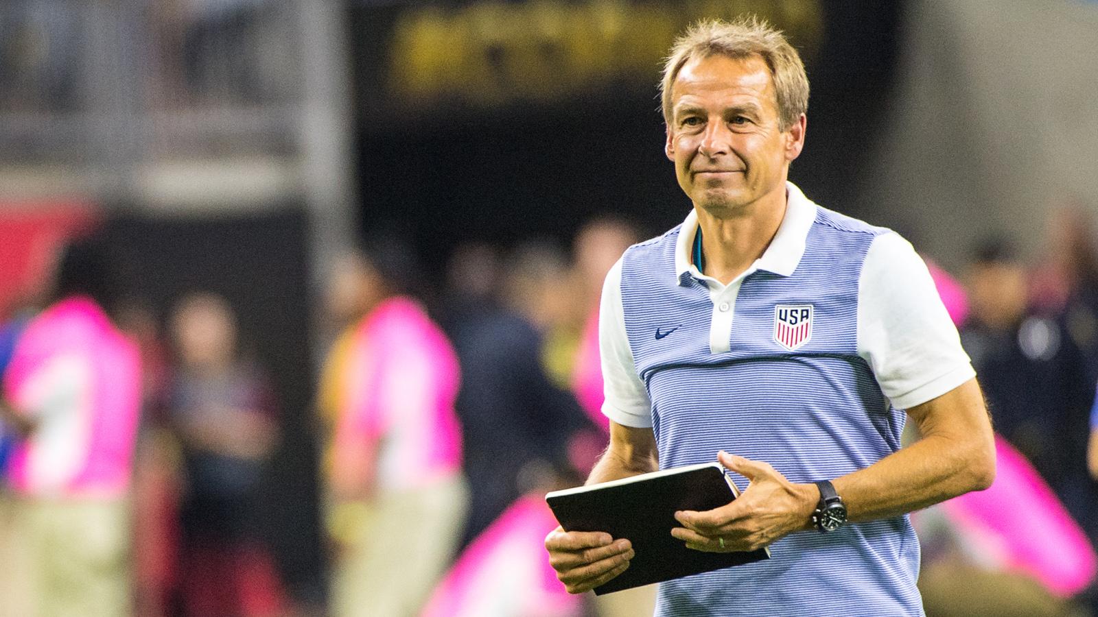 Jurgen Klinsmann makes big changes to USMNT roster for New Zealand friendly