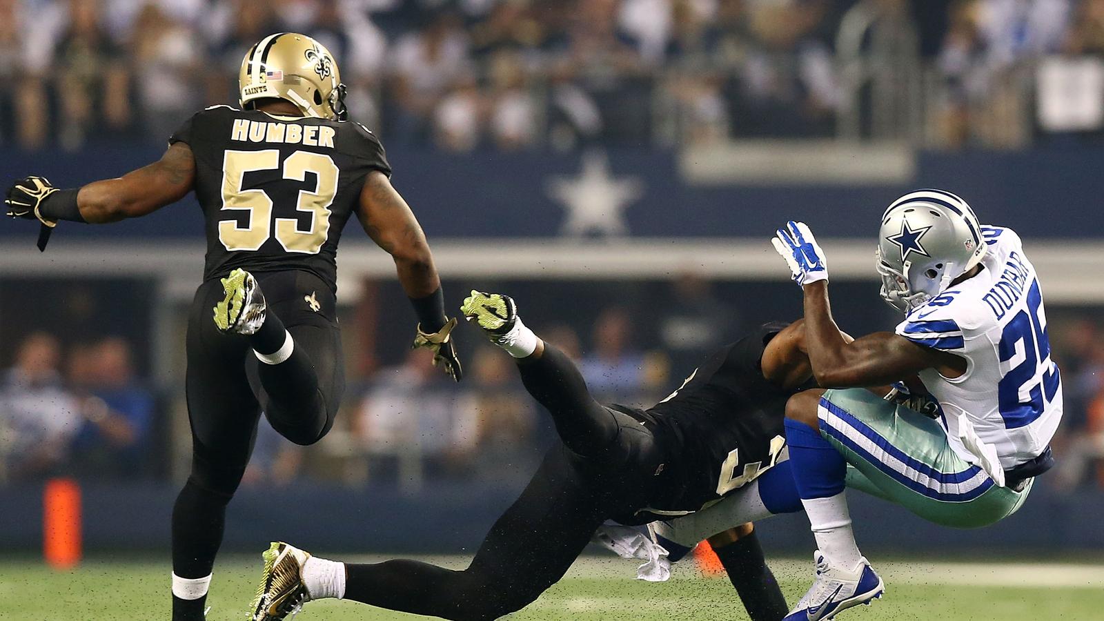 Flashback: Dallas Cowboys vs. New Orleans Saints