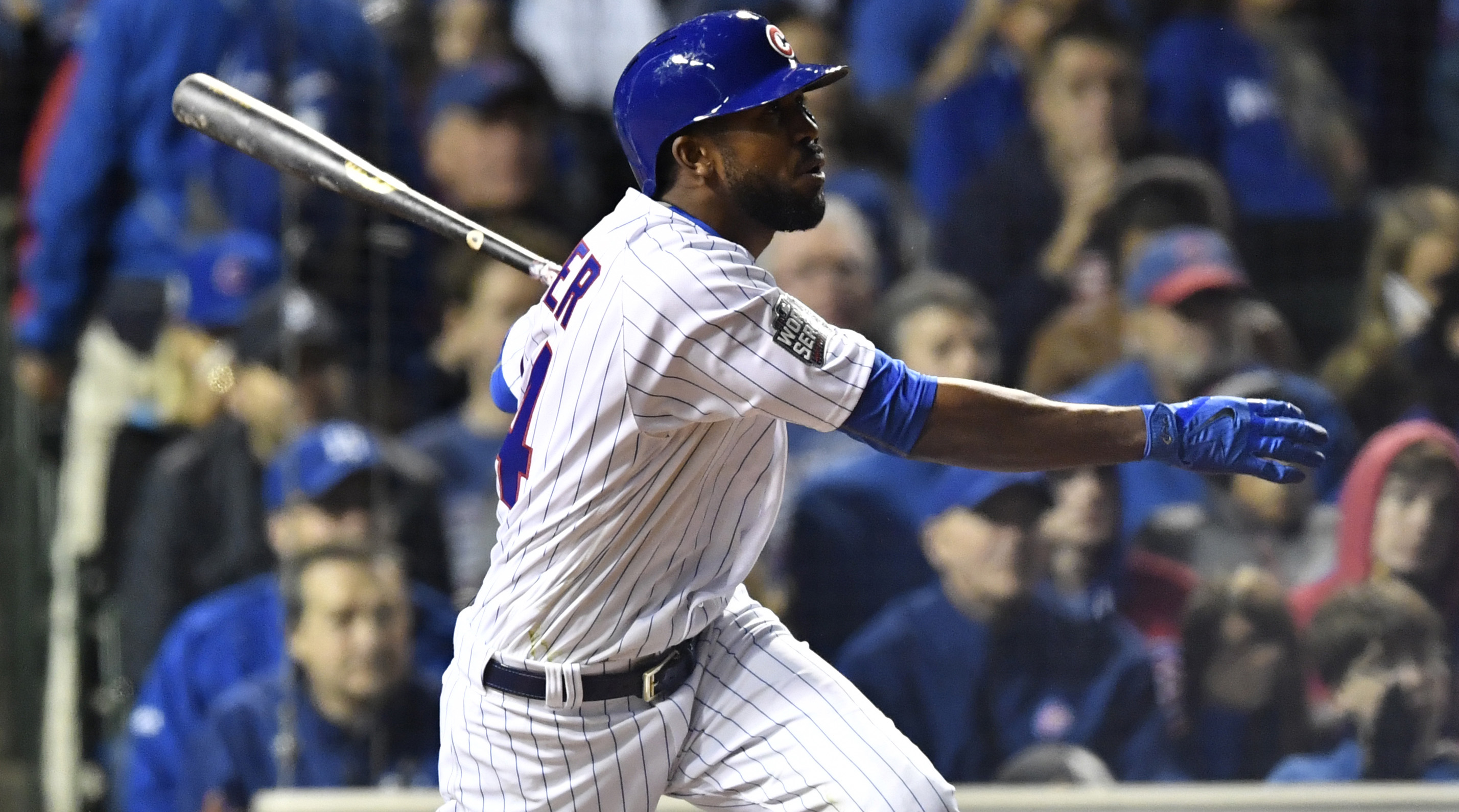 Internet goes wild after Dexter Fowler leads off World Series Game 7 with home run