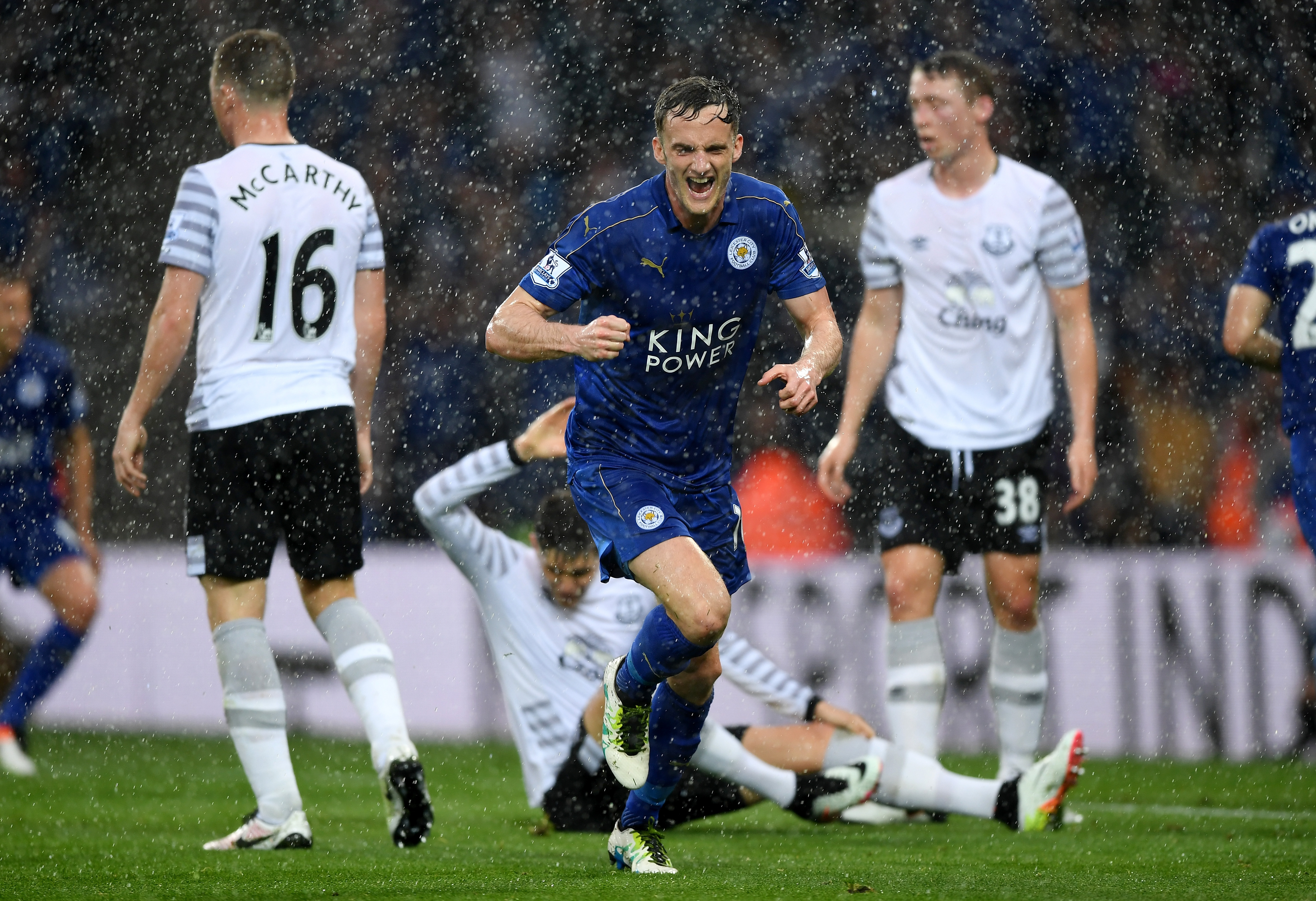 Andy King reveals why signing Slimani is good news for Jamie Vardy