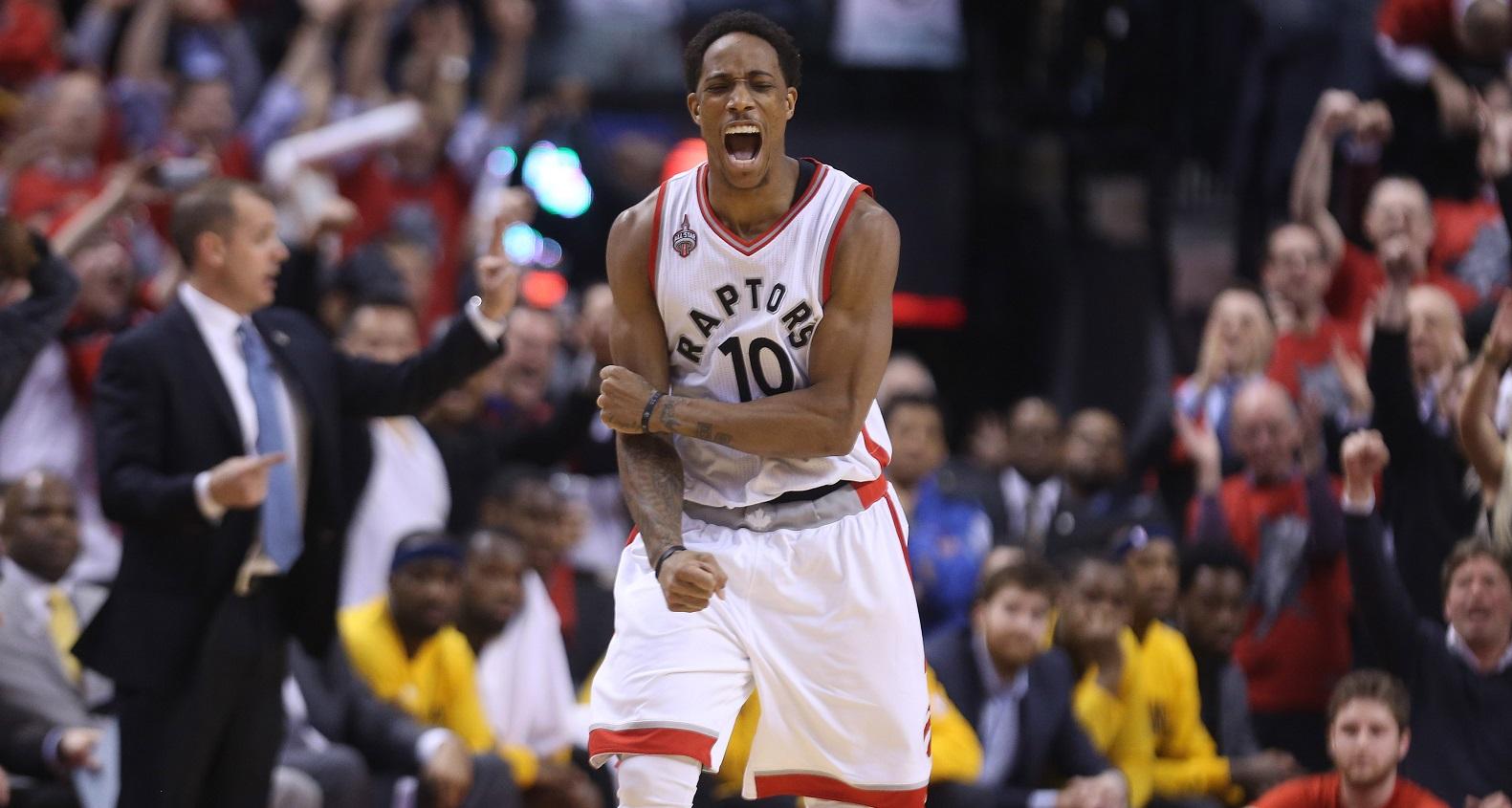 DeMar DeRozan drops 30, Raptors hang on for Game 7 win over Pacers