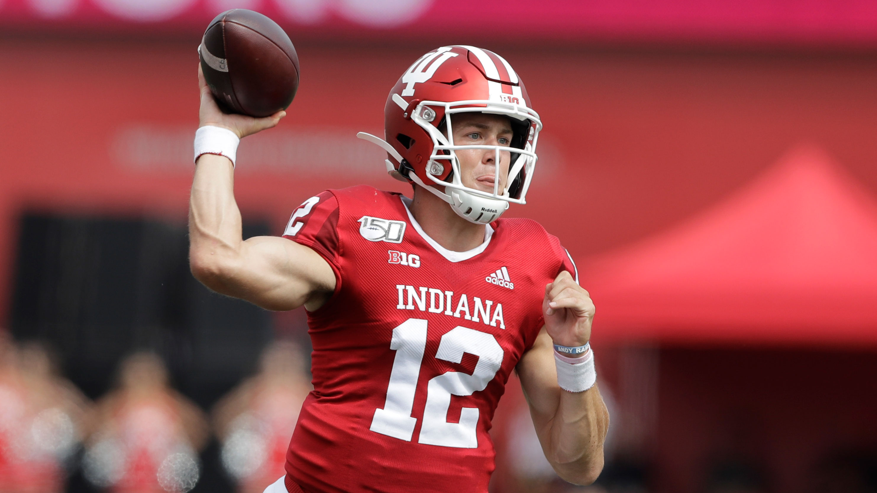 Ramsey throws three touchdowns in Indiana's 38-3 win over UConn