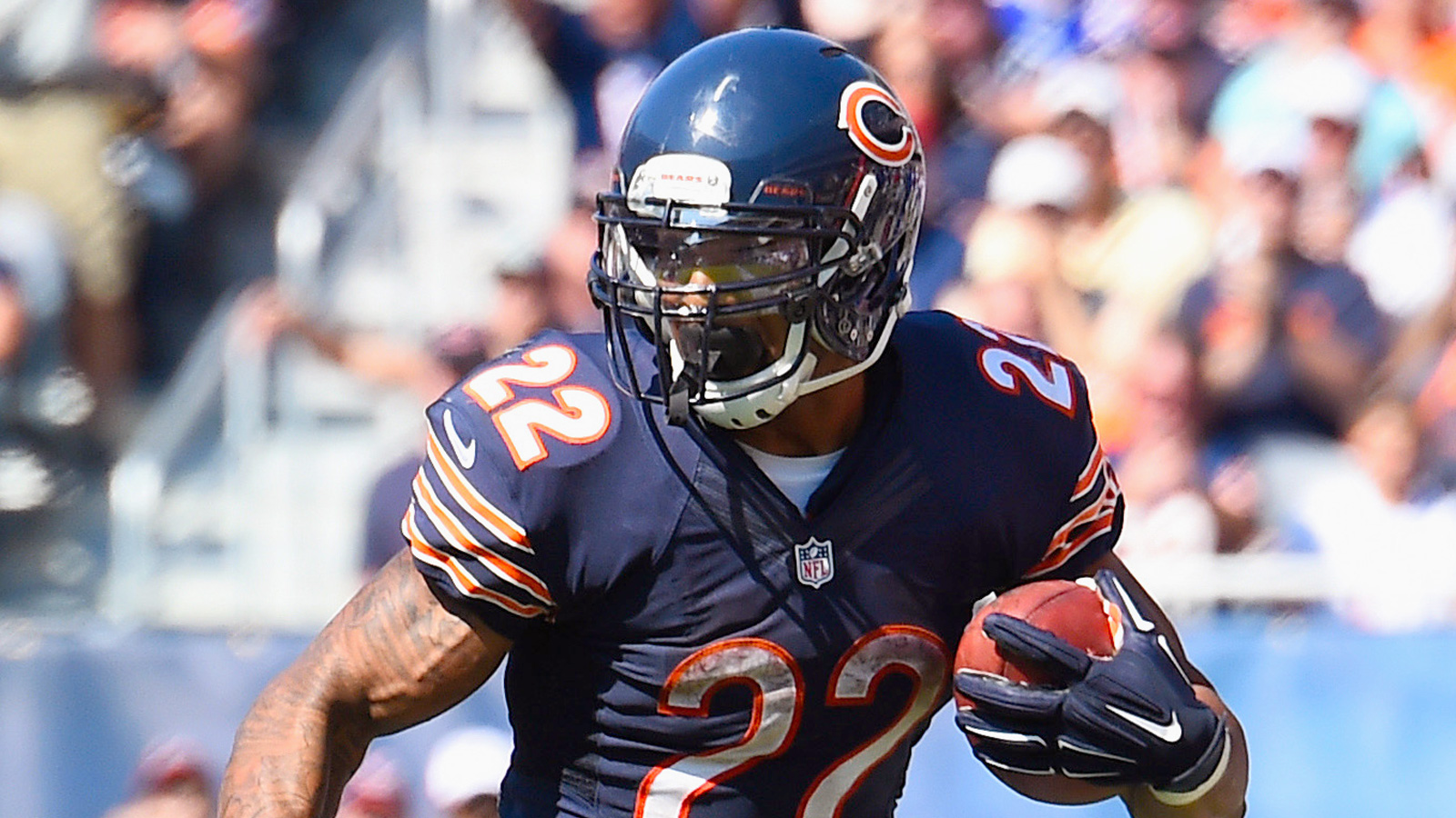Bears may be hurting at receiver, but they're loaded at running back