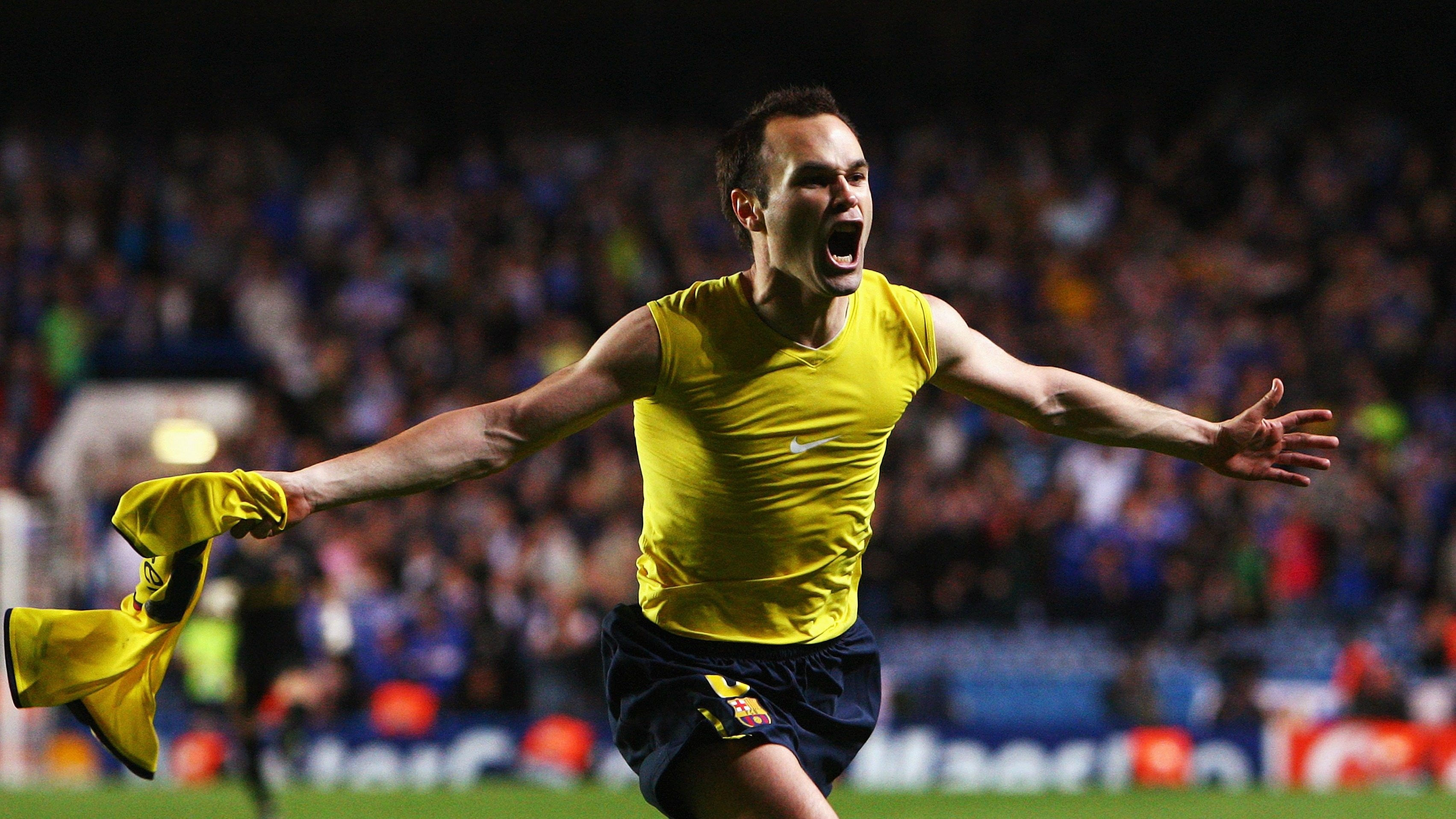 Relive the Andrés Iniesta Champions League goal that broke Chelsea hearts