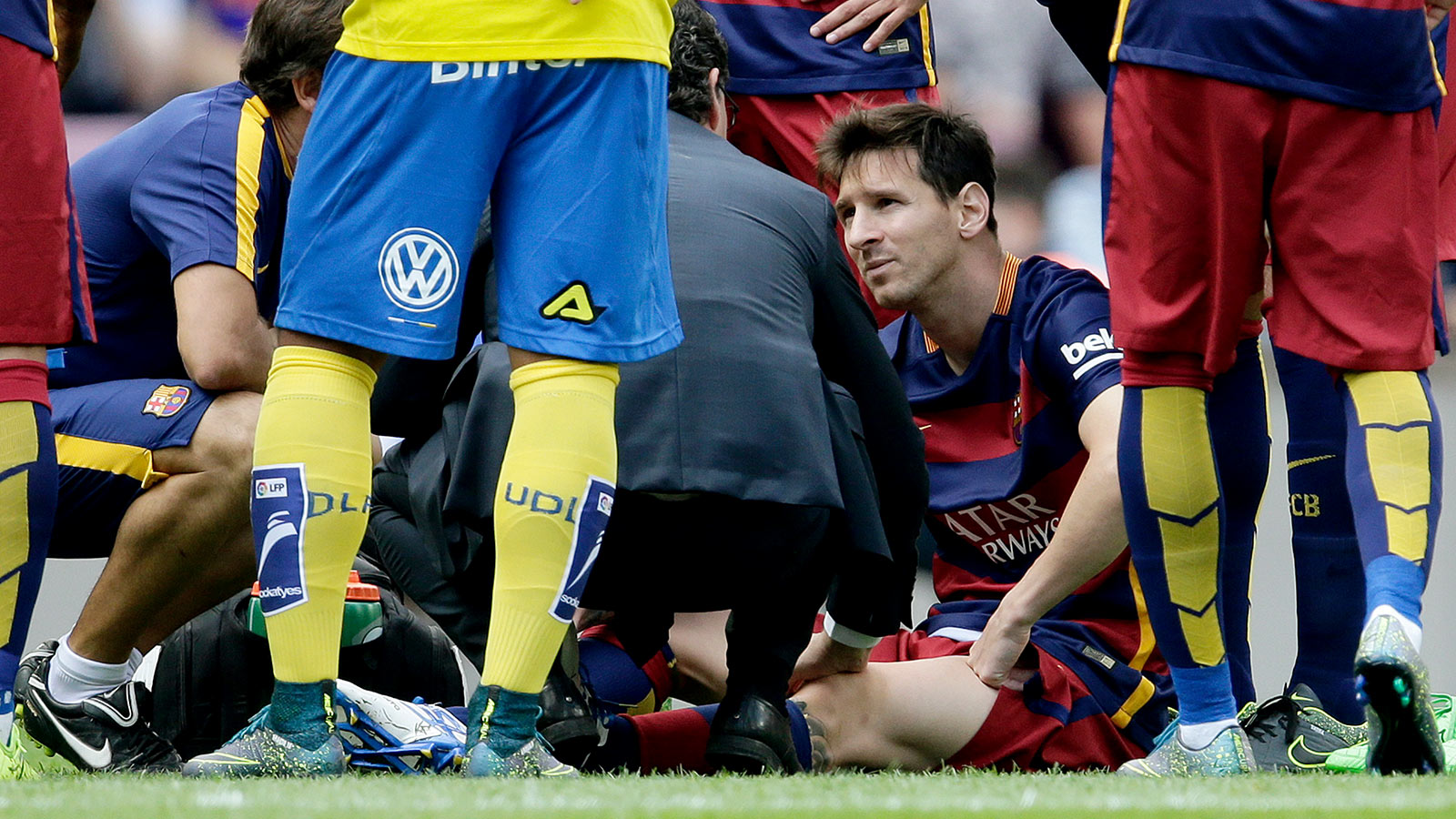 Barcelona's margin of error drops with Messi's injury layoff