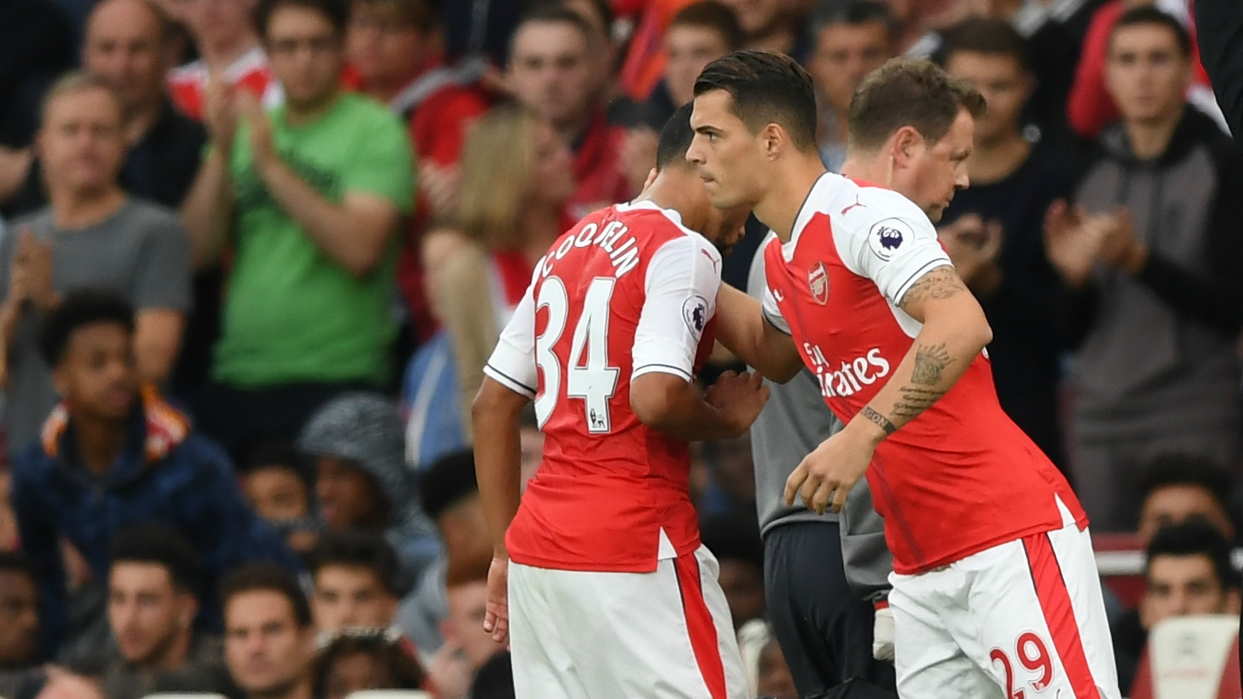 Francis Coquelin's injury gives Granit Xhaka and Arsenal the chance to take a leap forward