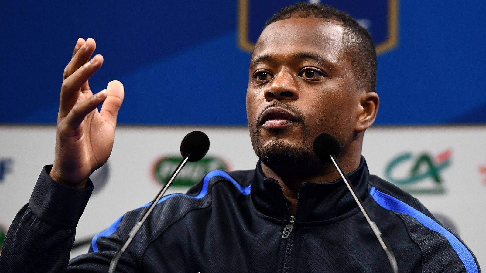Evra urges France teammates to 'wake up' before Iceland game
