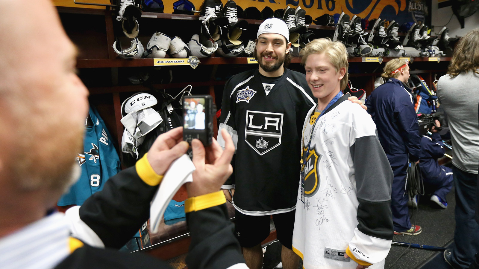 Kids with life-threatening health issues meet NHL All-Stars