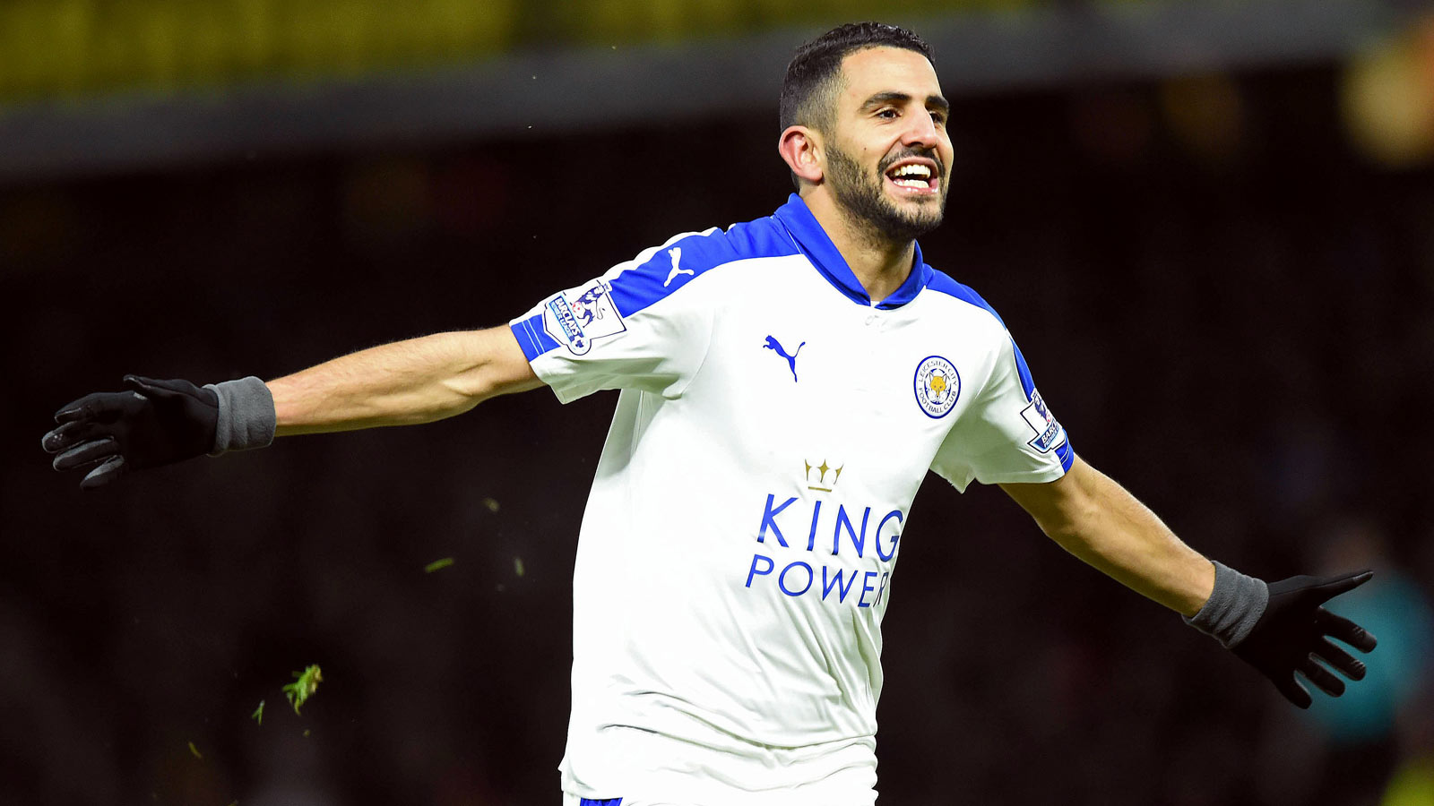 Mahrez keeps Leicester flying high with win against Watford