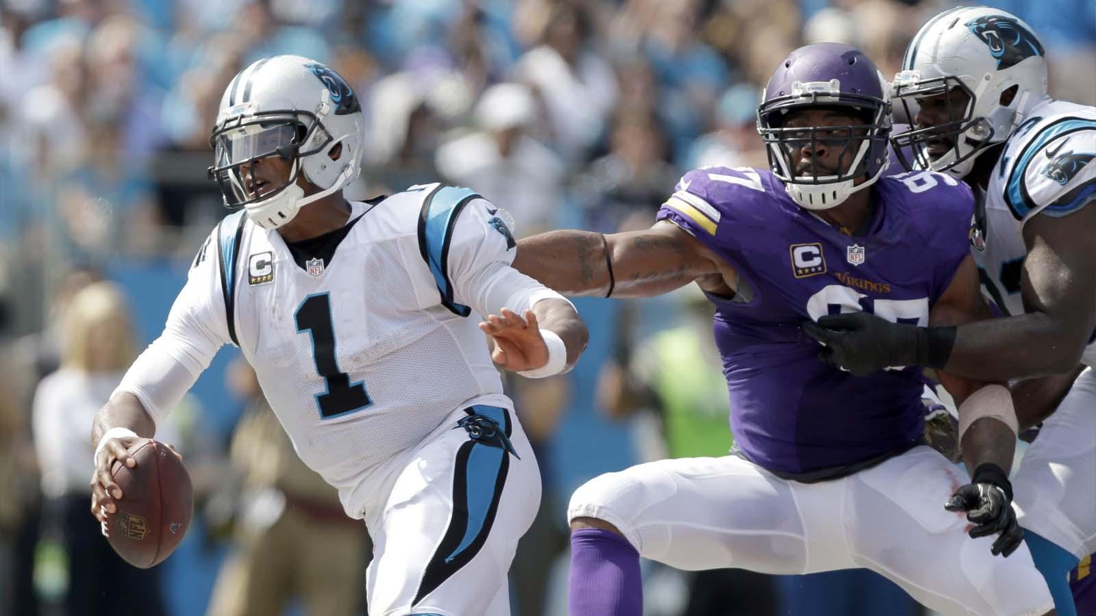 Vikings defense shuts down Newton for win in Carolina