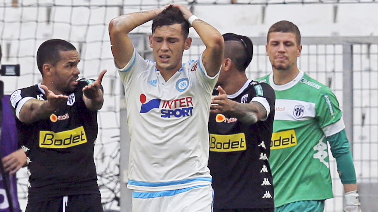 Ligue 1: Marseille lose to newly promoted Angers, Monaco stutter