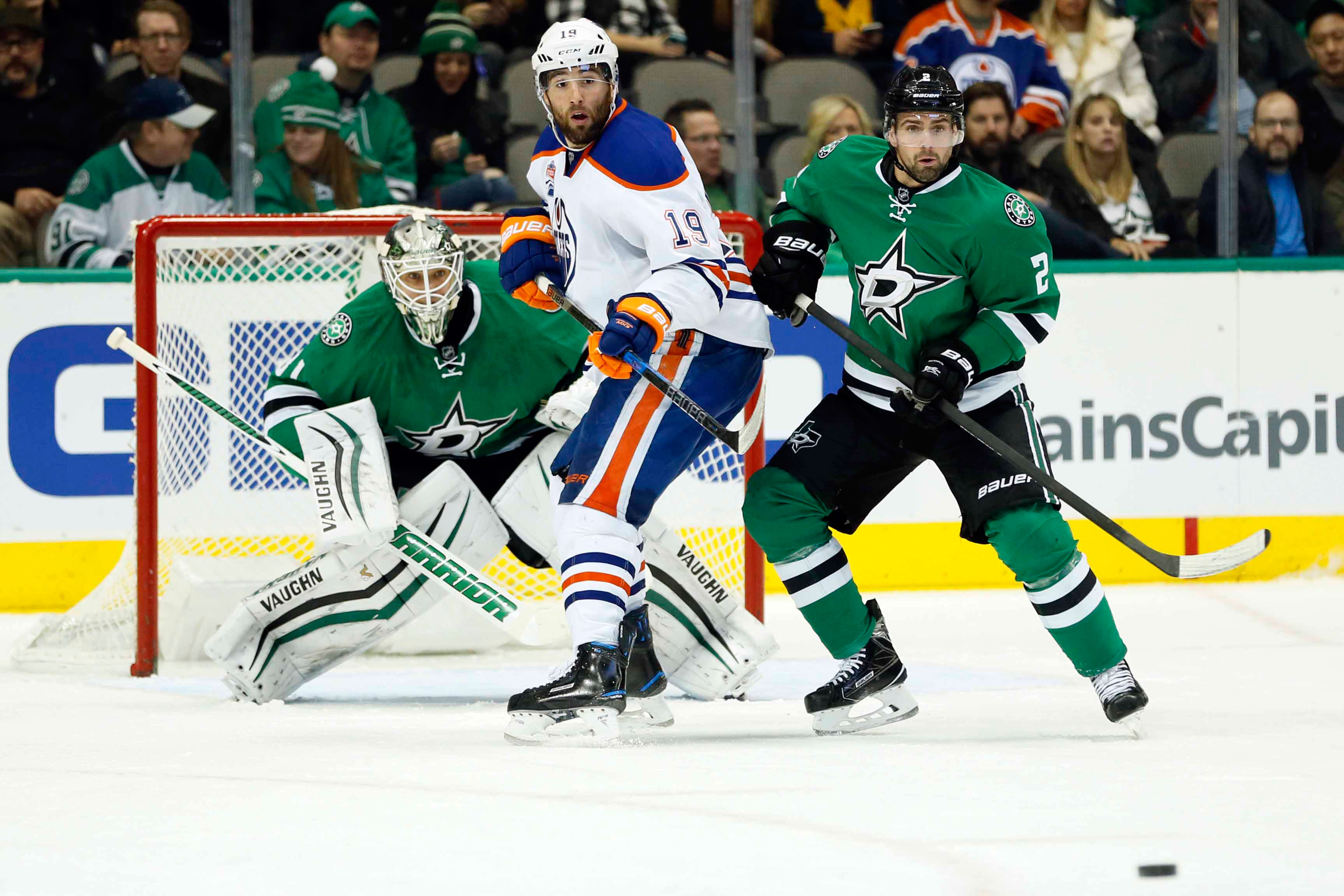 McDavid gets first hat trick, Oilers beat Stars 5-2