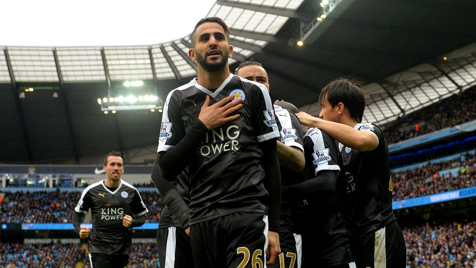 Barcelona plot summer swoop for Leicester star Mahrez