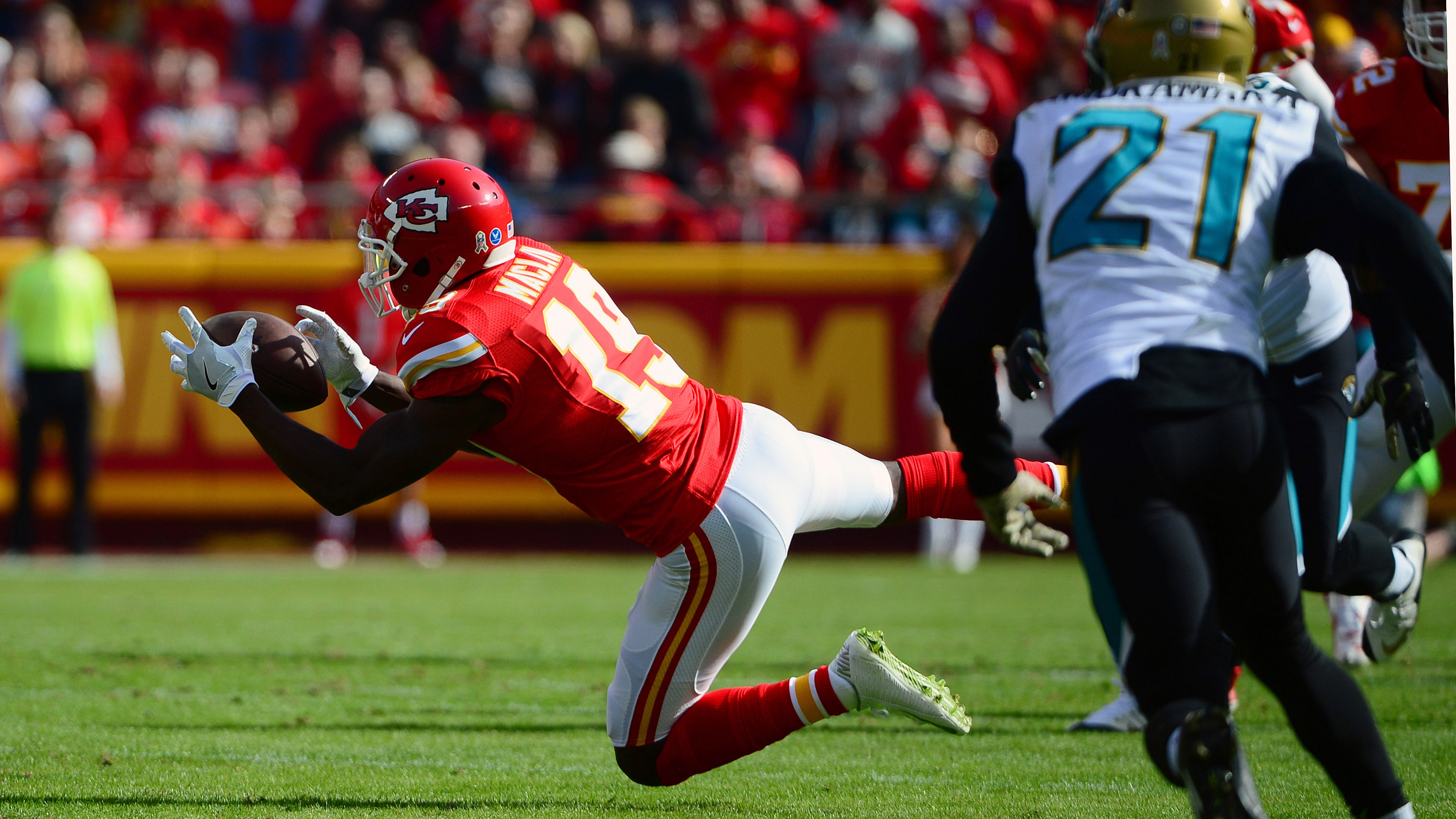Maclin's a no, Houston's a maybe for Chiefs-Bucs game
