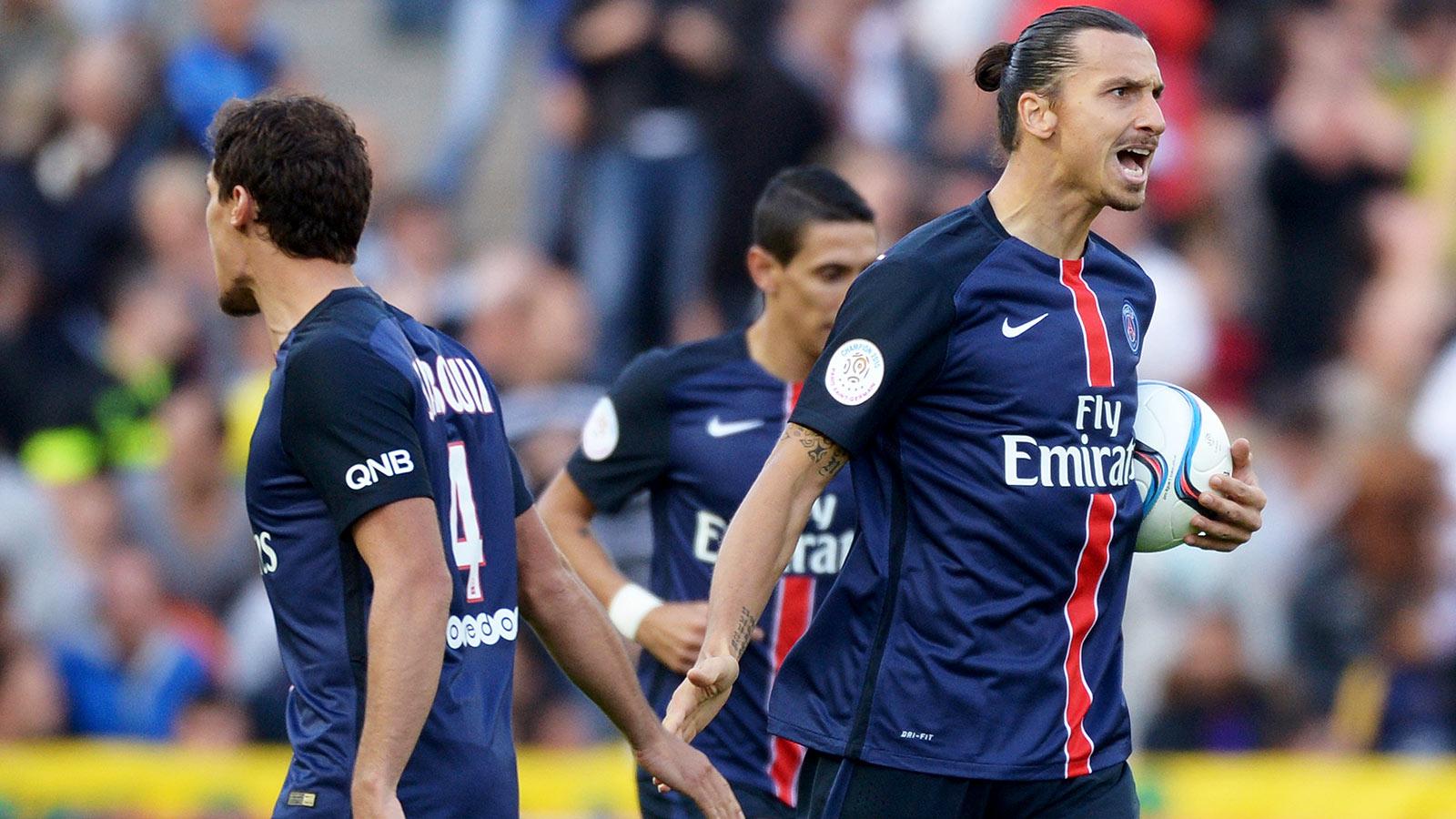 PSG remain unbeaten in Ligue 1, mount rally to thrash Nantes