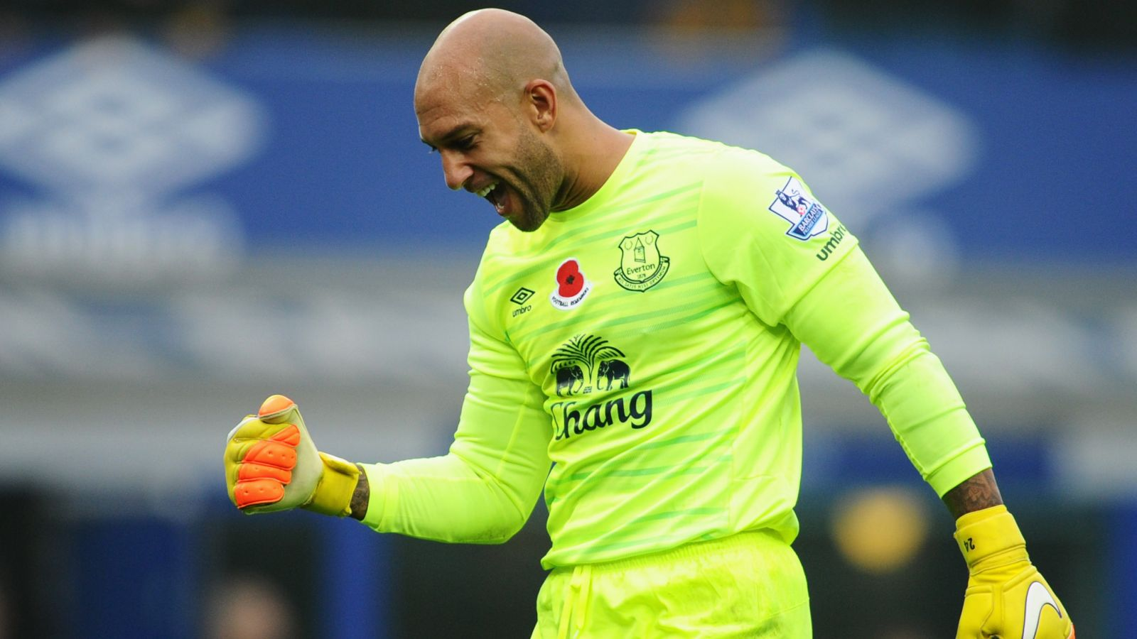Howard composes emotional farewell message to Everton fans