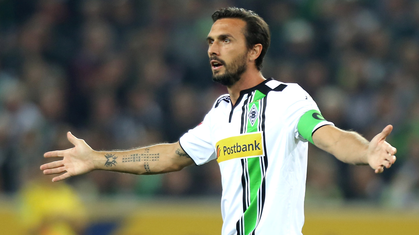 Gladbach captain Stranzl out for six to eight weeks