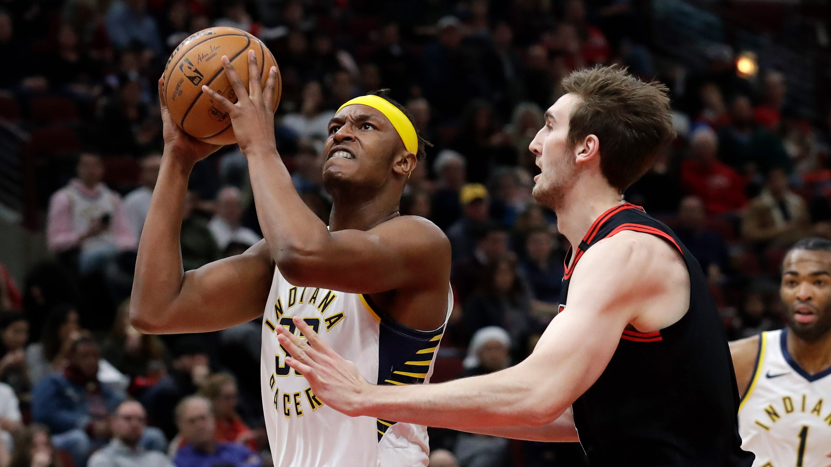 Turner scores season-high 27 as Pacers top Bulls 116-105