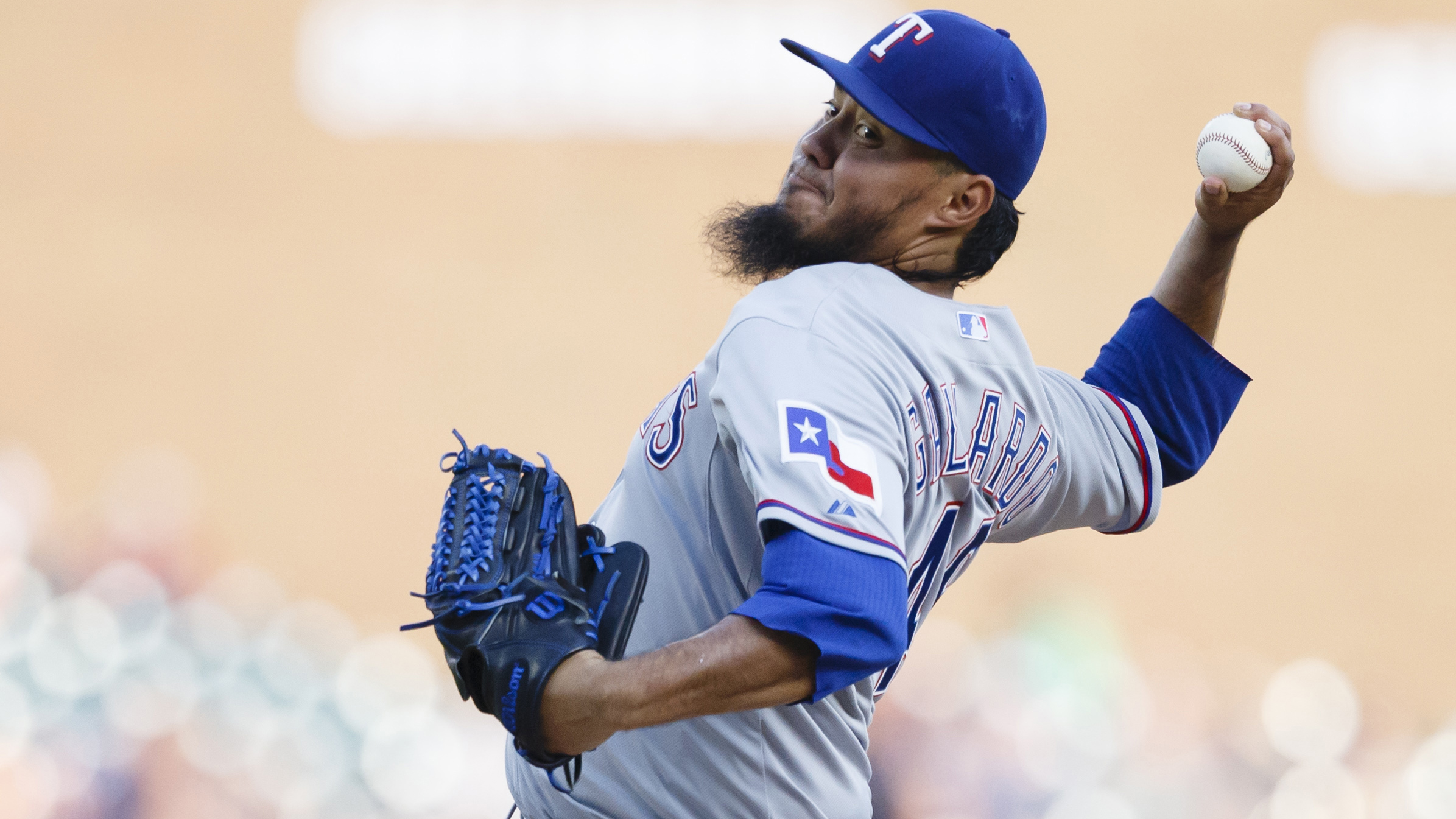 Gallardo shuts down Tigers, Rangers hold off Detroit