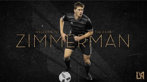 LAFC acquires defenseman Walker Zimmerman from FC Dallas
