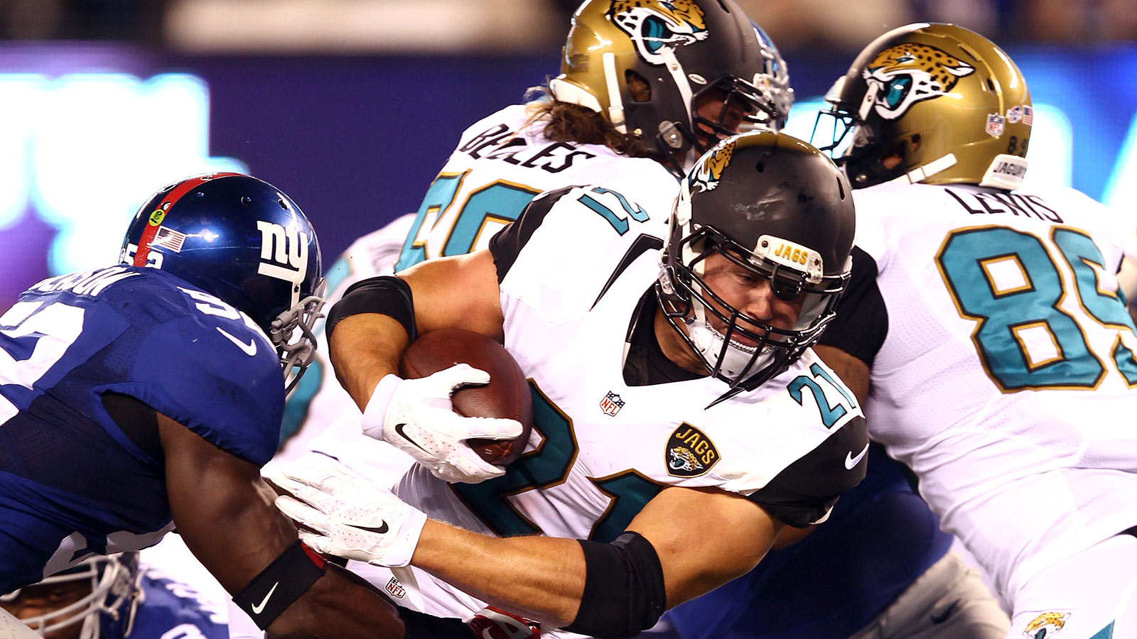 RB Gerhart ruled out of Jaguars preseason game with Detroit