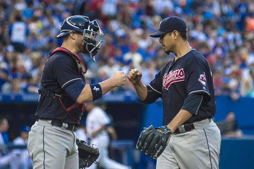 Streaking Indians match franchise record with 13th straight win