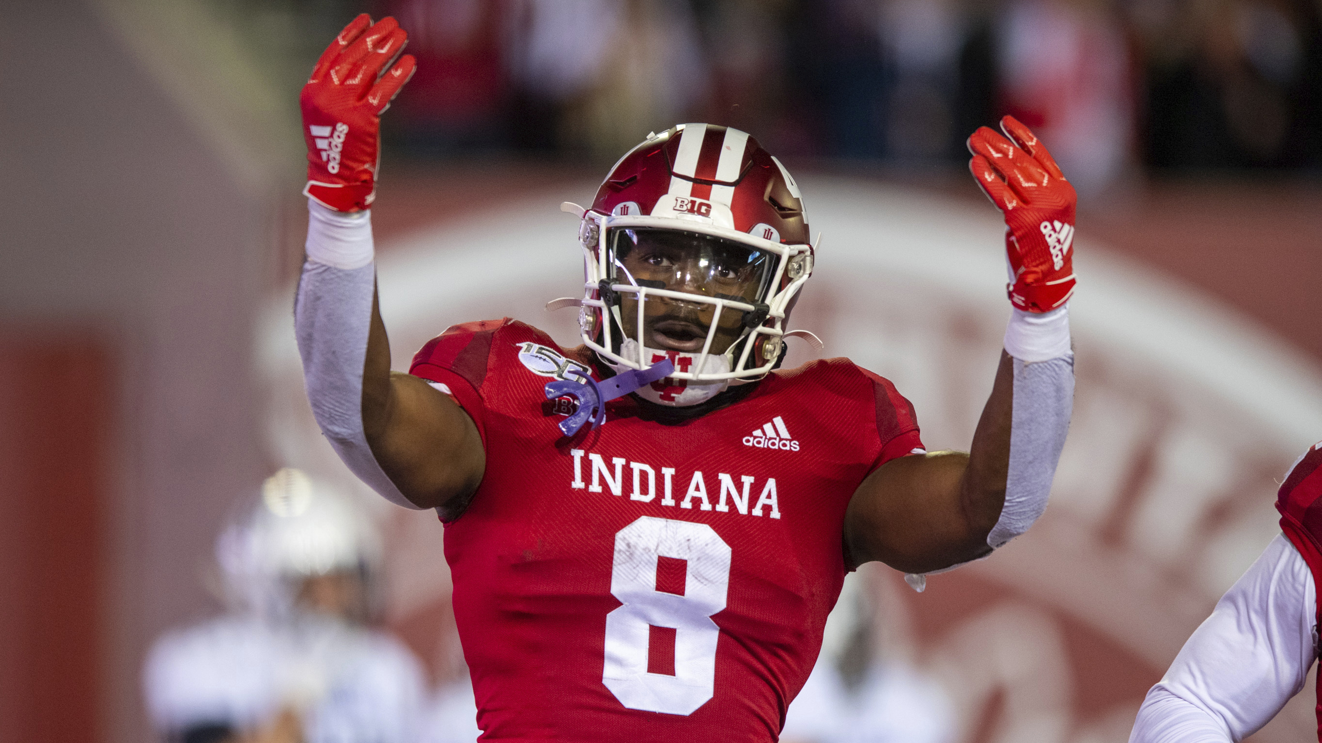 Indiana cruises to 34-3 win behind Stevie Scott's strong night