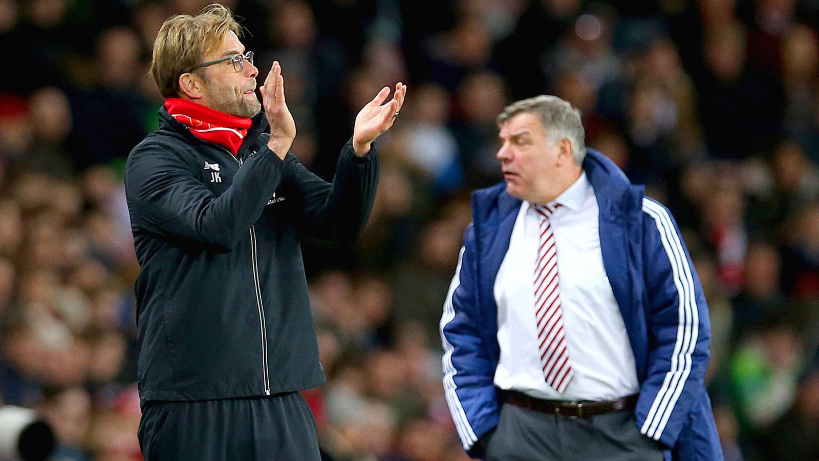 Liverpool boss Klopp hits back at Allardyce over injury claims