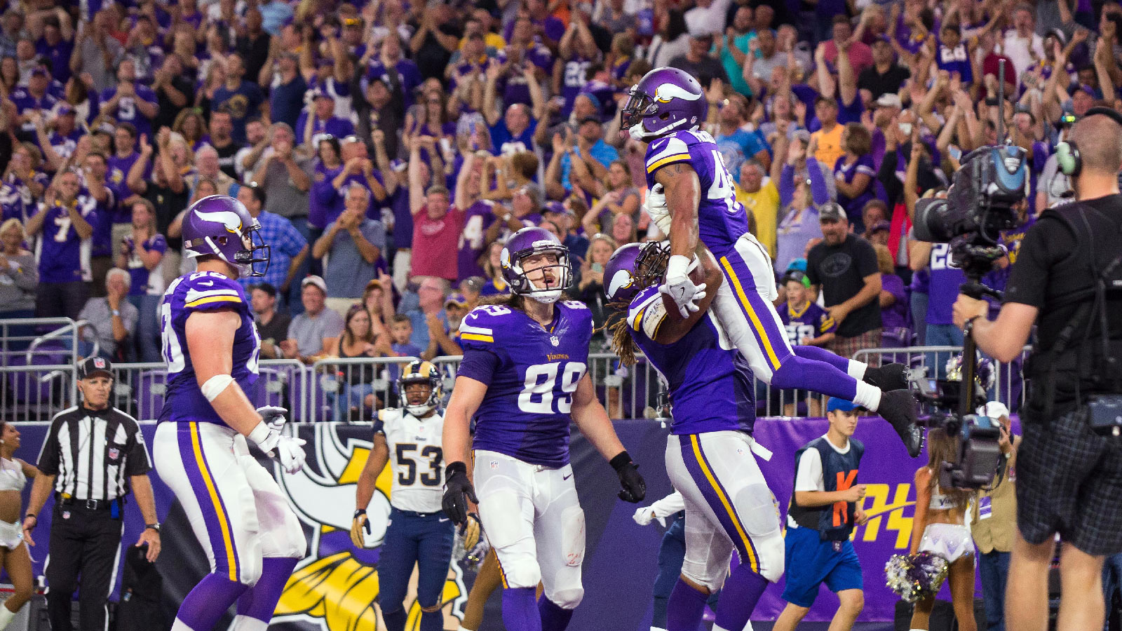 Projecting the Vikings' 53-man roster