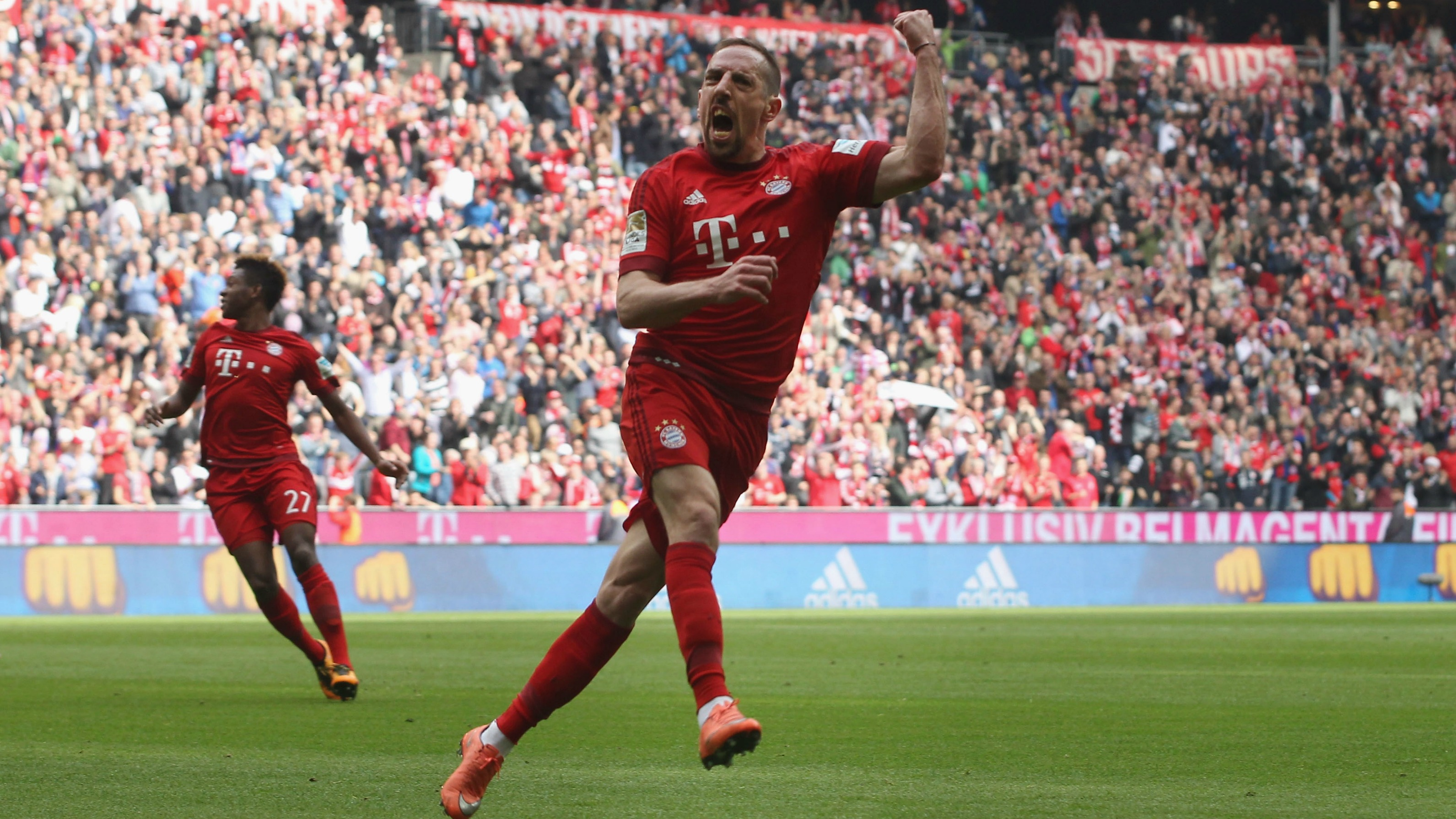 Franck Ribery proves he's not done yet with monster overhead goal
