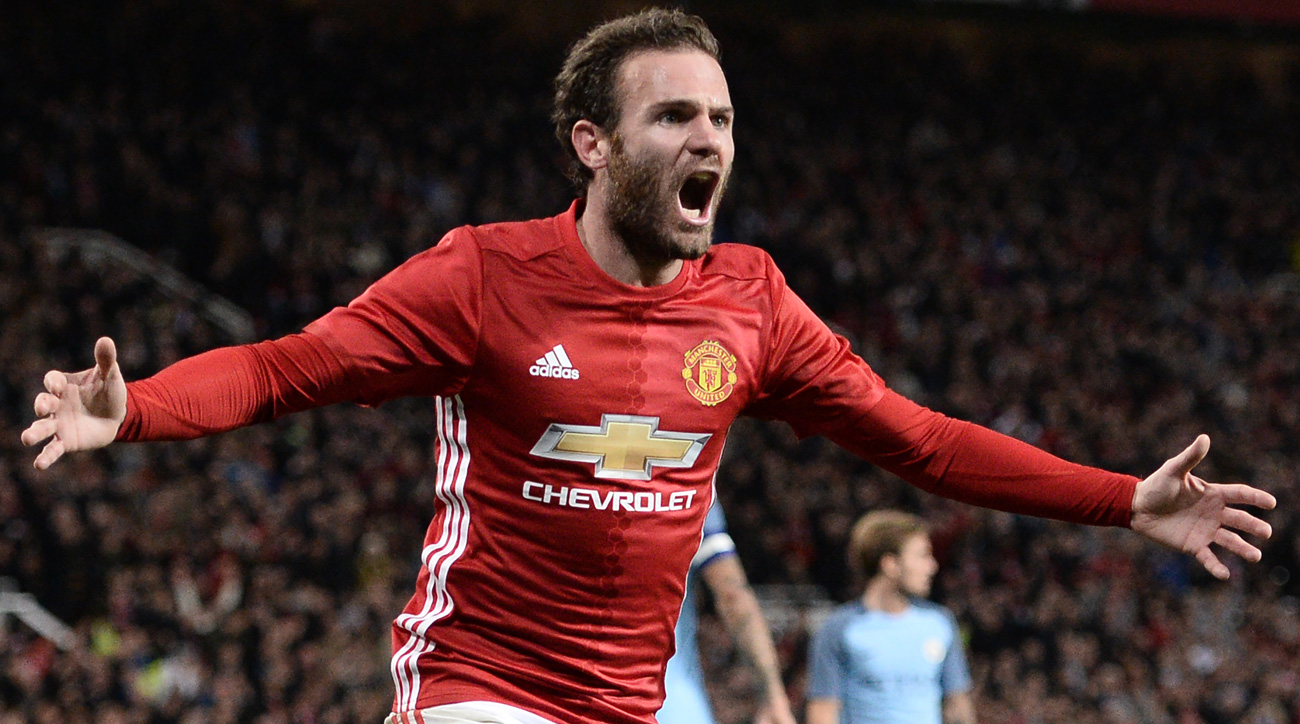 Watch: Juan Mata scores Manchester United's League Cup winner over rival City