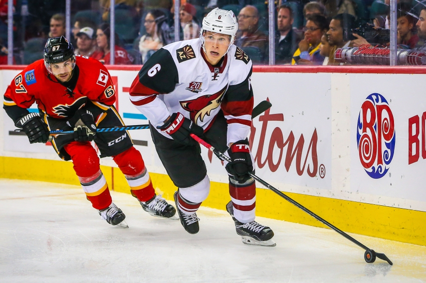 Arizona Coyotes' Jakob Chychrun Thrills In Anticipated NHL Debut