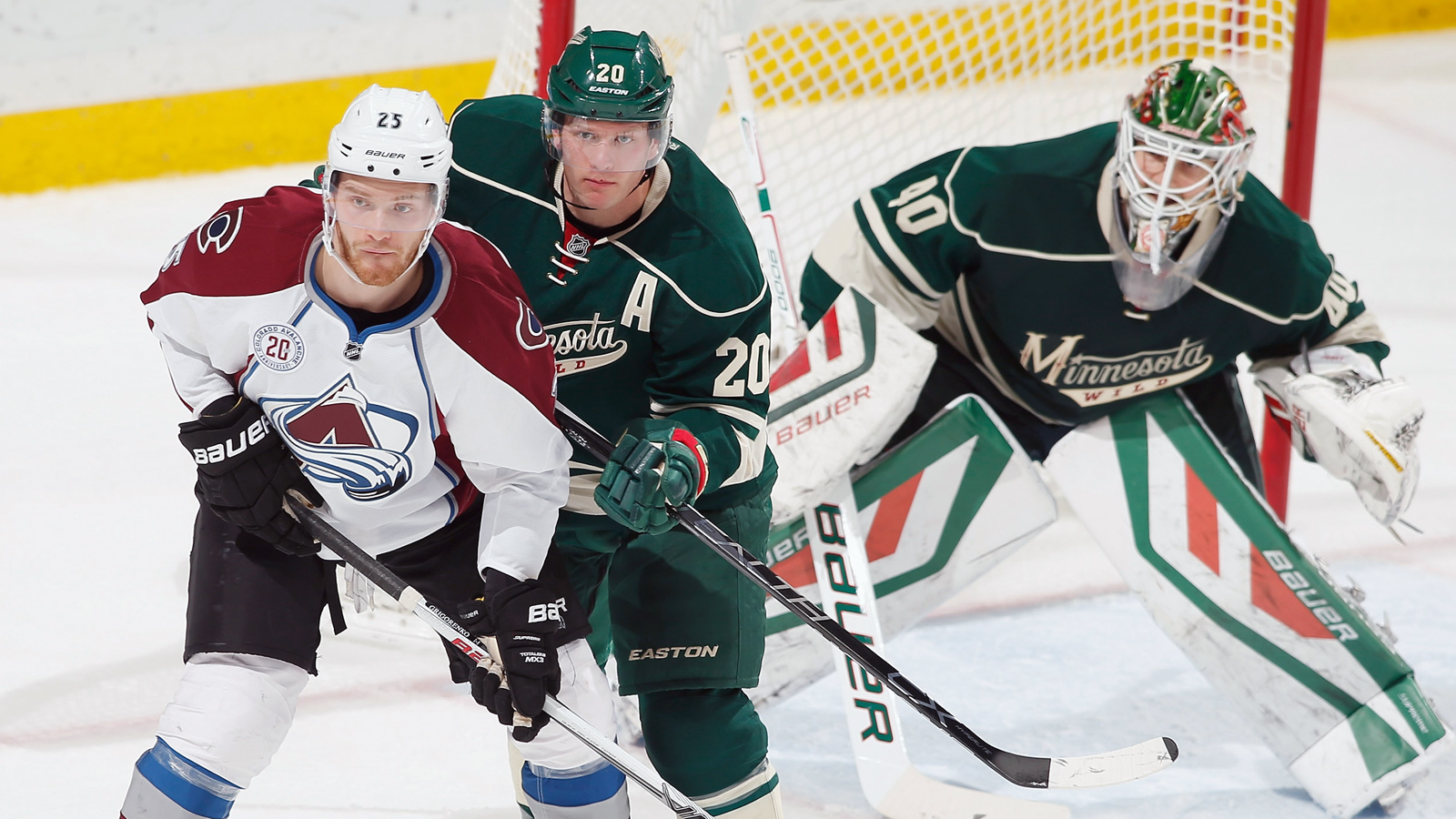 With Dubnyk hurt, relief goalie completes shutout for Wild against Avs