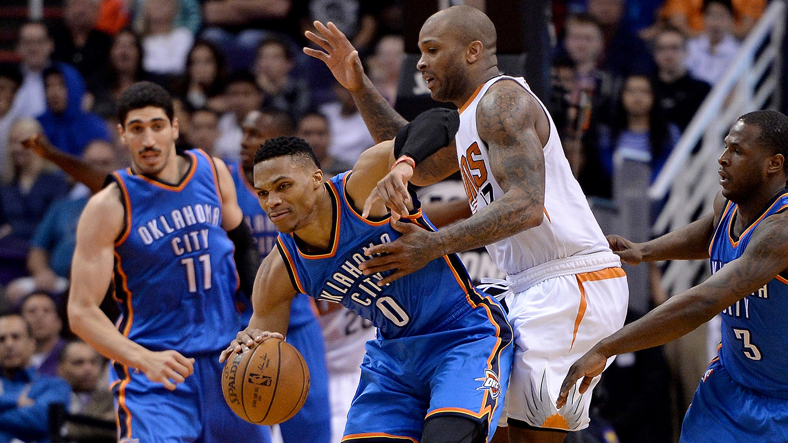 Suns looking for a spark as they take on Westbrook, Thunder