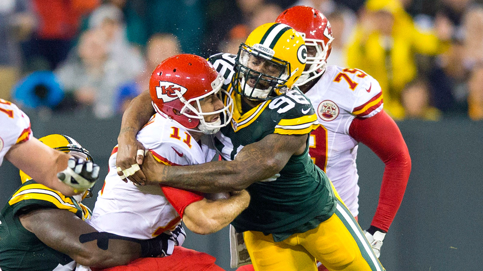 WATCH: Mike Neal recaps Packers' win over Chiefs on Monday night