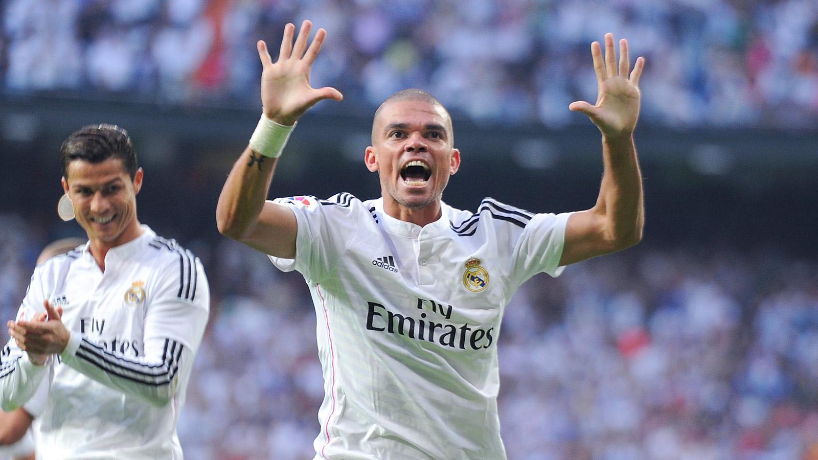 United boss Van Gaal set to turn to Real Madrid defender Pepe
