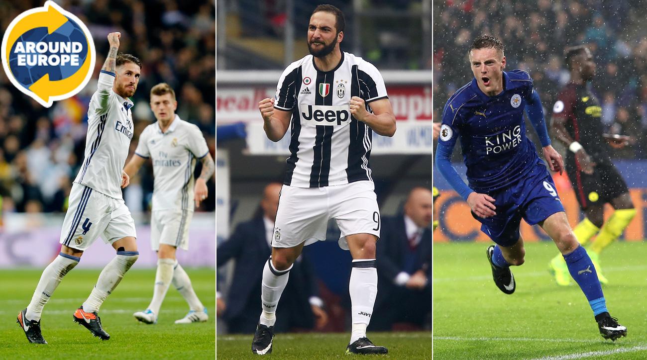 Vardy resurfaces, Ramos rescues Real (again), more headliners Around Europe