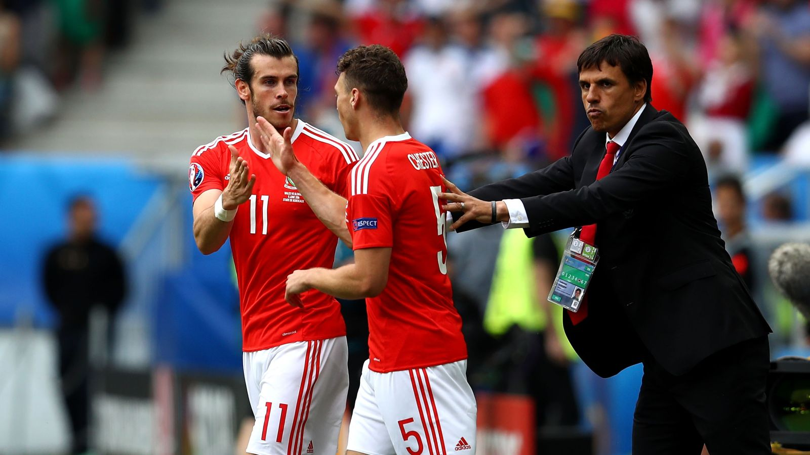 None of England's strikers are in the same class as Bale, says Chester