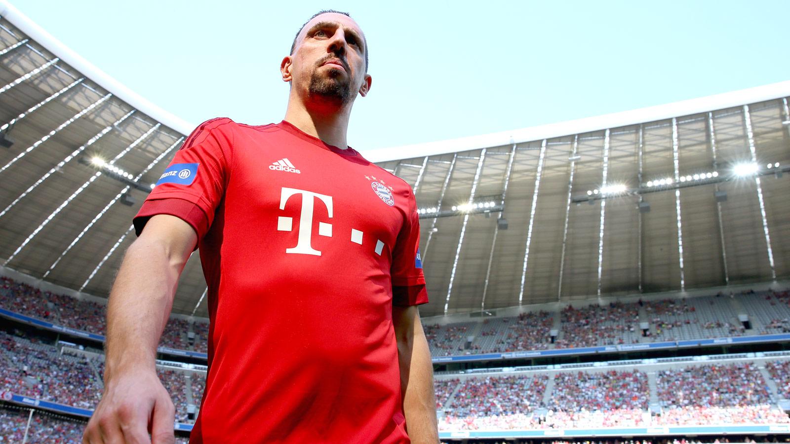 Bayern Munich's Franck Ribery closing in on comeback