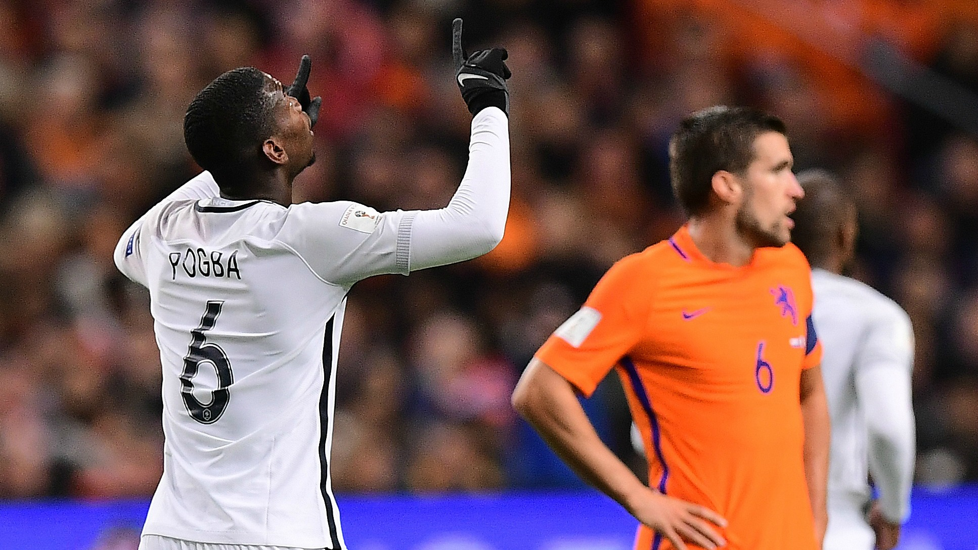 Watch Paul Pogba score an absolute missile against the Netherlands