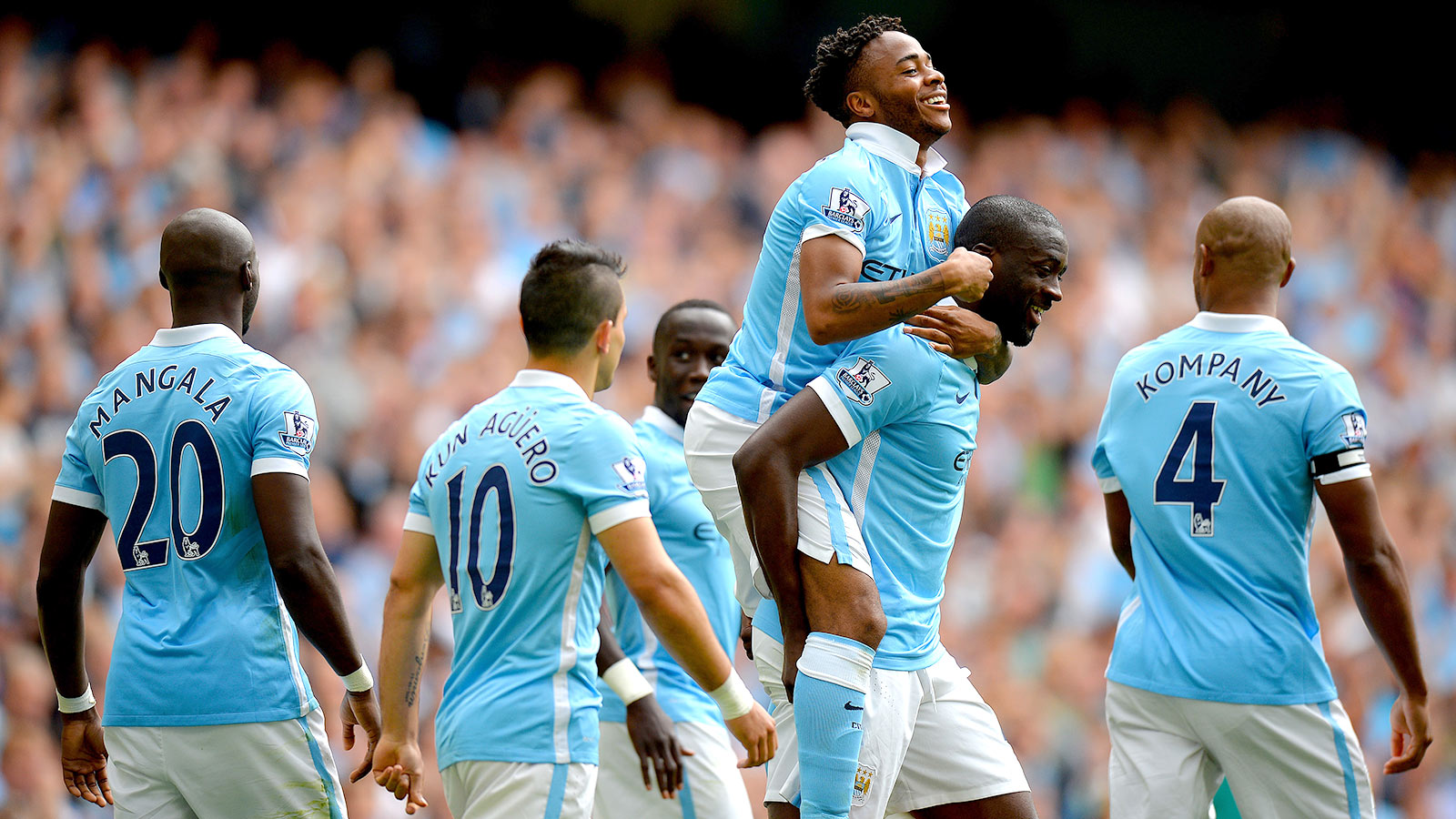 Manchester City maintain flying start with win against Watford